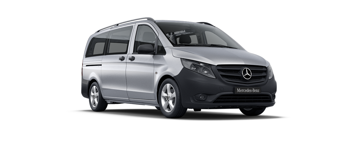 Vito Tourer, briljantzilver metallic