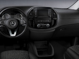 Vito Tourer, chroompakket interieur