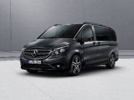 Vito Tourer, bumpers en stylingaccessoires in carrosseriekleur